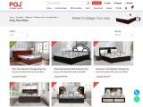 King Bed with Hydraulic Storage in Odisha
