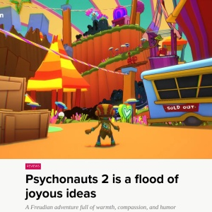 Psychonauts 2 review: a Freudian adventure with a flood of joyous ideas - Polygon