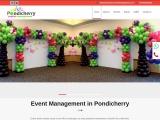 Event Management in Pondicherry
