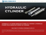 Hydraulic cylinder manufacturers in Chennai ,Hydraulic power pack manufacturers in Chennai