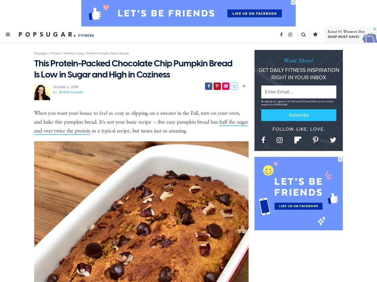 Skip the High-Cal PSL, and Get Your Fall Fix With Protein-Packed…