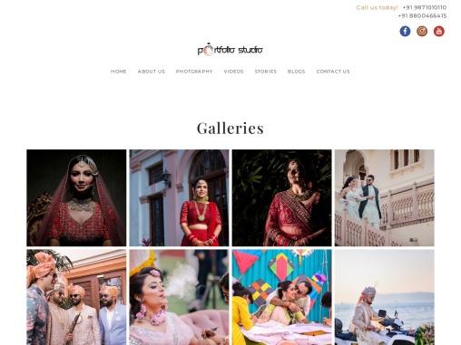 Book Best Wedding Photographer in Delhi | Portfolio Studio