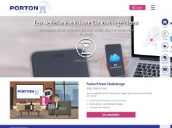 Porton.nl screenshot