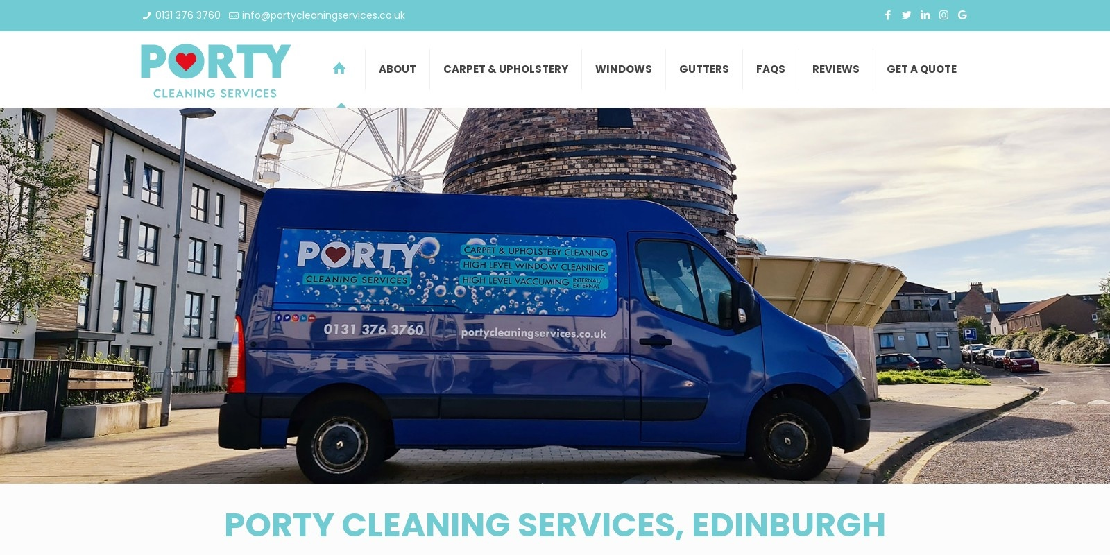 Preview of https://www.portycleaningservices.co.uk