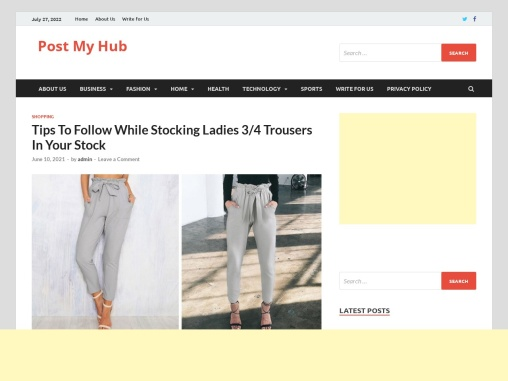 Wholesale 3/4 Trousers Distributor – How to Grow your Business in Short Time