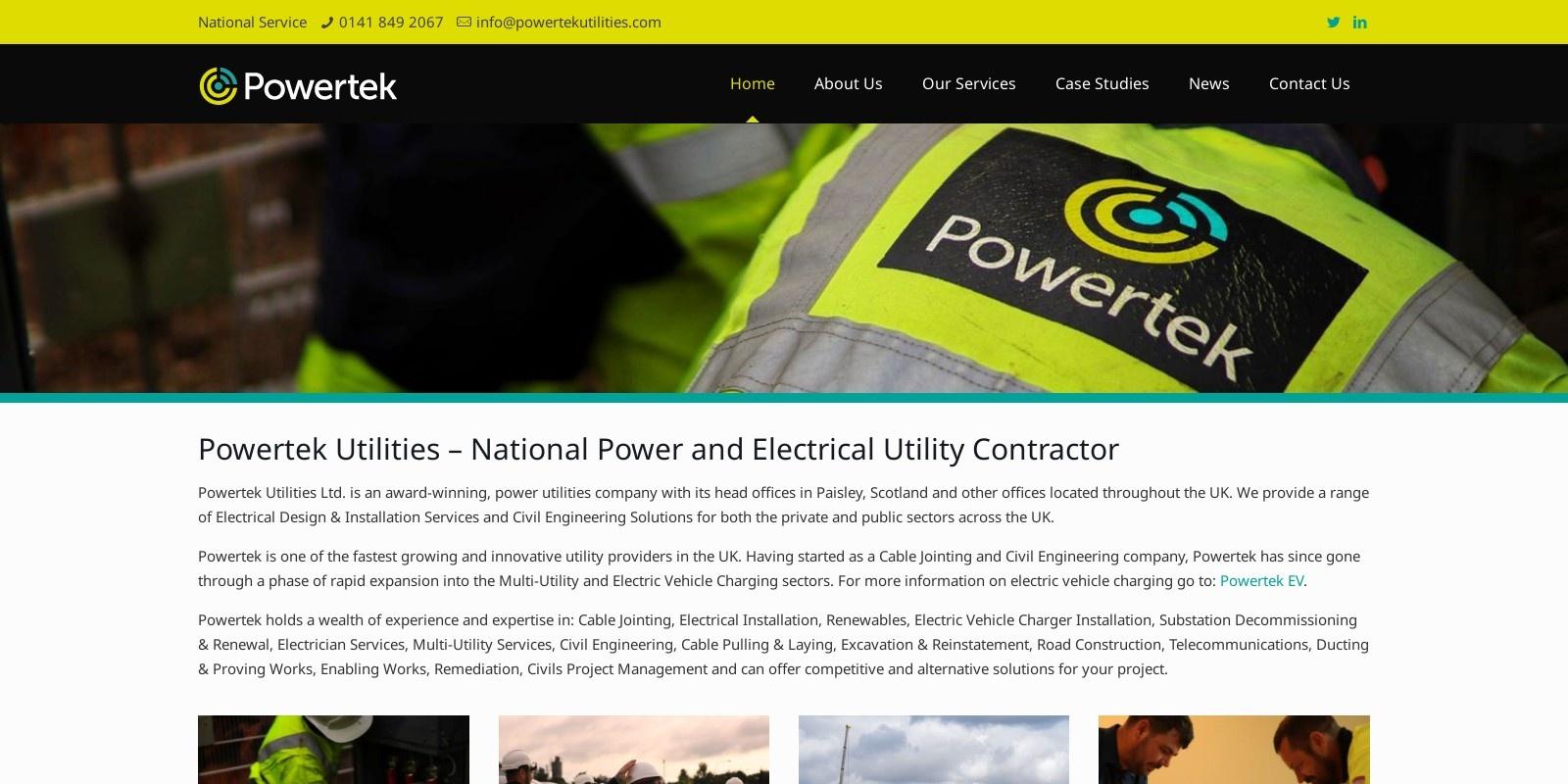 Preview of https://www.powertekutilities.com