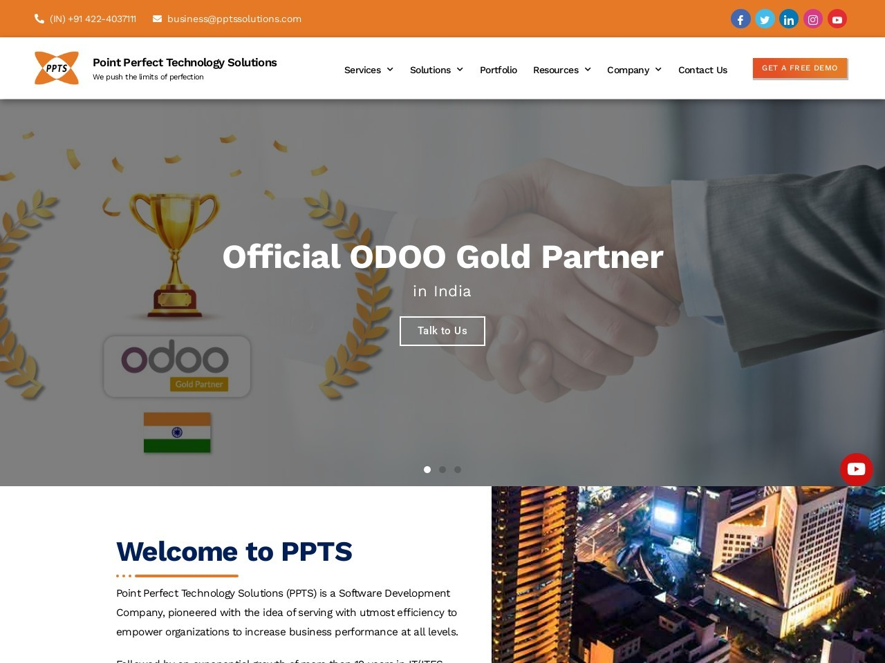 Odoo Implementation In USA