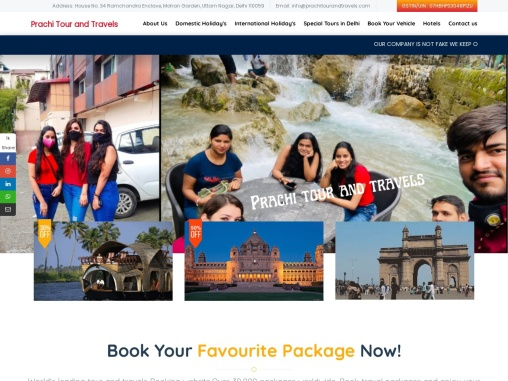 Travel agency in delhi – Cheapest tour packages   India
