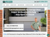 Call Professionals for Garage Door Repair Melbourne If It Fails to Stay Open or Closed