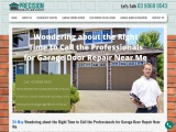 Wondering about the Right Time to Call the Professionals for Garage Door Repair Near Me