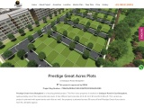 New Launch Prestige Great acres Plots at Sarjapur Road