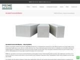 Aerated Concrete Blocks & Bricks in Guntur | Light Weight Aerated Concrete Bricks