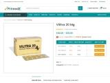 Buy vilitra 20mg  tablet online at flat 28% Off