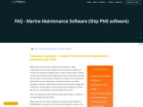 Marine Management Software|Maritime software