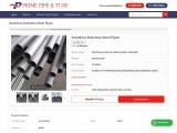 Seamless SS Pipe Suppliers Maharashtra