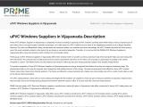 uPVC Doors and Windows Suppliers in Vijayawada | Windows Dealers