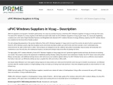 Best uPVC Doors and Windows Suppliers in Vizag | Windows Dealers