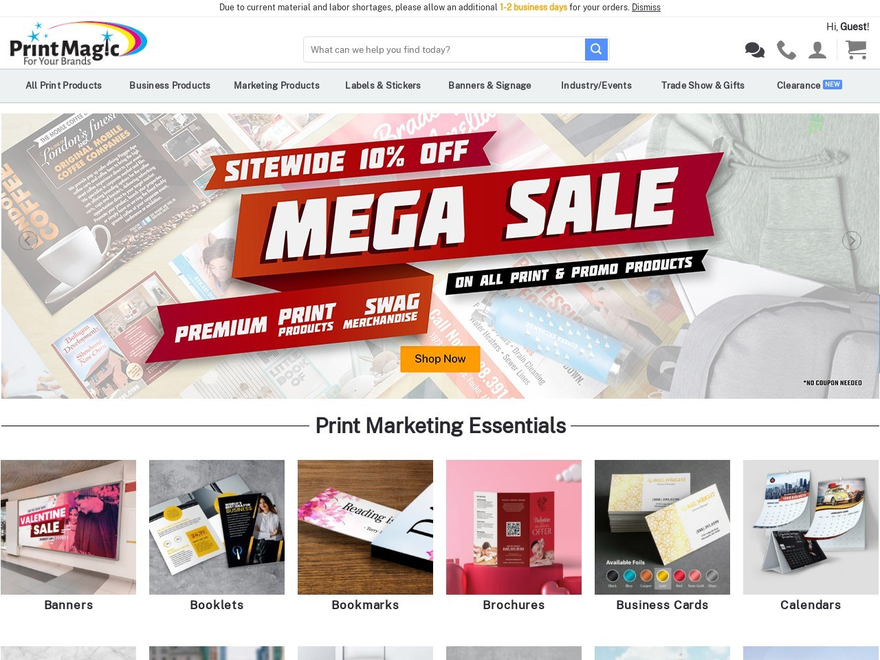 Buy custom headwear online with PrintMagic