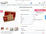Buy Brown Kraft Business Cards at PrintMagic