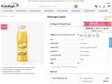 Print beverage label with PrintMagic.