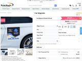 Buy Custom Car magnets At PrintMagic