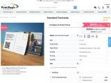 Order Standard Postcard printing from PrintMagic