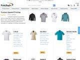 Print Custom Apparel online with PrintMagic
