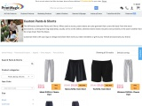 Order personalized pants & shorts with PrintMagic