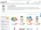 Buy high quality personalized highlighter pens from PrintMagic