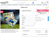 Buy online print trading cards for business from PrintMagic