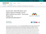 Automatic Identification and Data Capture Market worth $80.3 billion by 2025