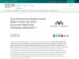 Soil Monitoring Market worth $680 million by 2025 – Exclusive Report by MarketsandMarkets