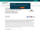 3D Machine Vision Market worth $2.4 billion by 2025 – Exclusive Report by MarketsandMarkets™