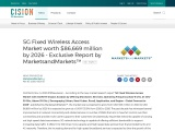 5G Fixed Wireless Access Market worth $86,669 million by 2026