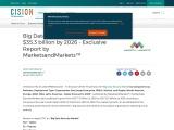 Big Data Security Market worth $35.3 billion by 2026 – Exclusive Report by MarketsandMarkets™