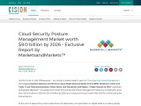 Cloud Security Posture Management Market worth $9.0 billion by 2026 – Exclusive Report by Marketsand