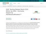 EMC Testing Market Worth $2.8 Billion by 2024