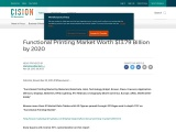 Functional Printing Market Worth $13.79 Billion by 2020