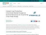 Global Crop Protection Chemicals Market Surges as Economies Focus on Improving Crop Yield: Study