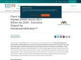 Plant Asset Management Market (PAM) Worth $9.4 Billion by 2024 – Exclusive Report by MarketsandMarke