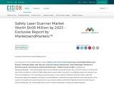 Safety Laser Scanner Market Worth $406 Million by 2023 – Exclusive Report by MarketsandMarkets™