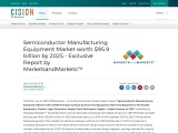Semiconductor Manufacturing Equipment Market worth $95.9 billion by 2025