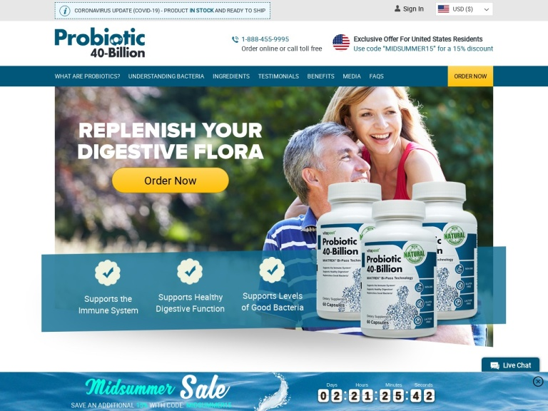 Probiotic 40 Gut Boost screenshot