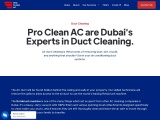 Best AC Duct Cleaning in Dubai