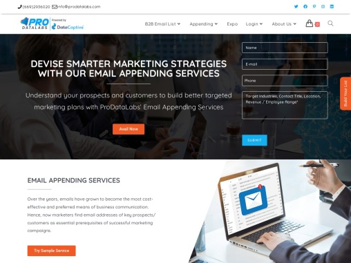 Best Email Appending Services | Email Append Services