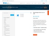 Psychologist Email List   Psychologists Mailing Addresses