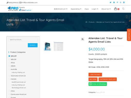 Get the Best Travel and Tour Contact List | Agents List