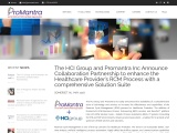 The HCI Group and Promantra Partnership