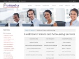Looking for Healthcare Finance and Accounting Services in US