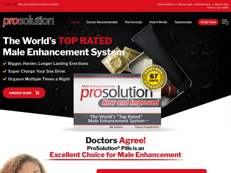 ProSolution Pills screenshot